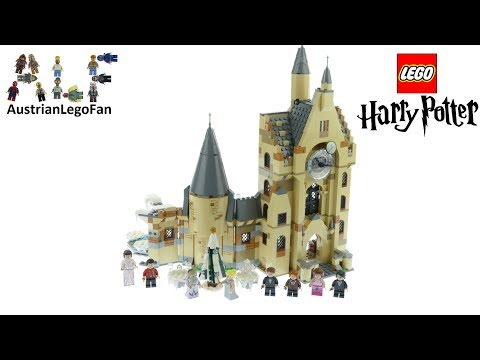 Vidéo LEGO Harry Potter 75948 : La tour de l'horloge de Poudlard