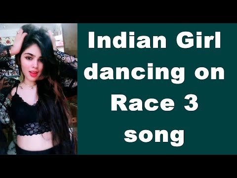 Beautiful Indian girl dancing