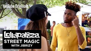 Lollapalooza Street Magic with JIBRIZY Backstage Edition