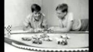 1962 Slot Racers Toy Cars TV Ad