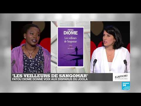 """Fatou Diome évoque le deuil et la renaissance avec """"Les Veilleurs de Sangomar"""""""