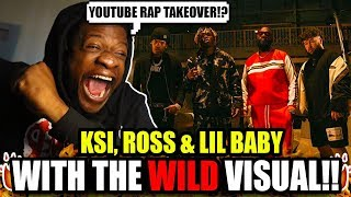 KSI – Down Like That Feat. Rick Ross, Lil Baby & S X (Official Video) REACTION