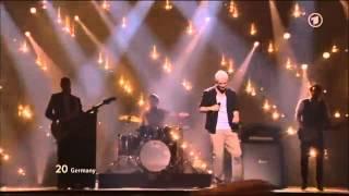 Roman Lob - Standing Still Eurovision Song Contest 2012 Finale (HD & HQ)