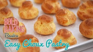 Easy Choux Pastry Recipe