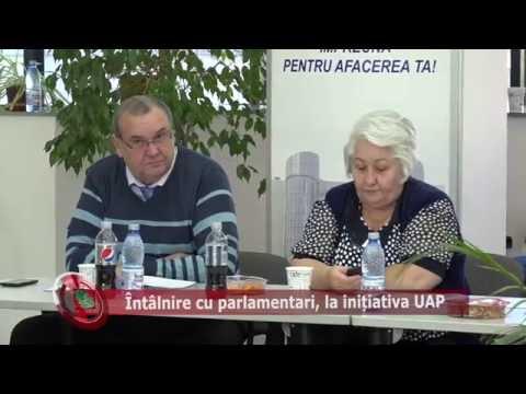 Emisiunea Proiecte pentru comunitate – 23 septembrie 2016 – Întâlnire UAP cu parlamentarii de Prahova