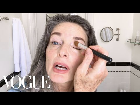 Watch This 1980s Supermodel's Spectacular Age-Defying Beauty Routine   Beauty Secrets   Vogue