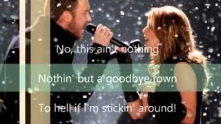 Lady Antebellum-Goodbye Town Lyrics
