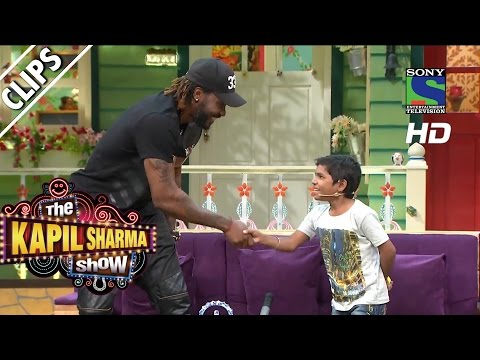 When-Khajoor-coached-Chris-Gayle--The-Kapil-Sharma-Show--Episode-11--28th-May-2016