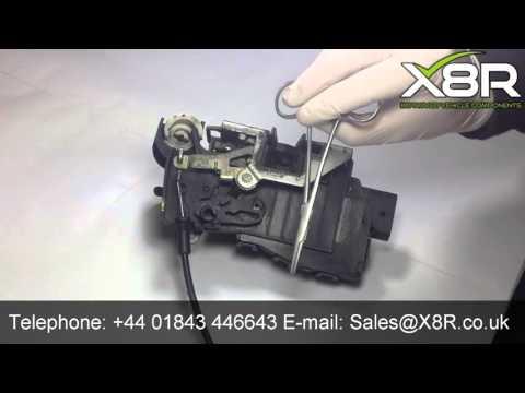 Mercedes Benz ML door lock spring video tutorial
