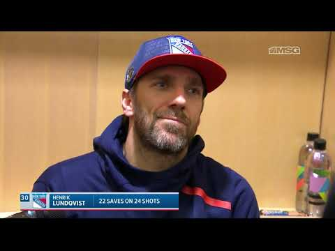Lundqvist: Every Game Is Important For Us To Grow