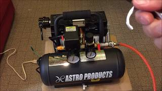 ASTRO PRODUCTS サイレントエアーコンプレッサー 6L