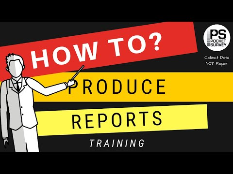 How To Produce Your Survey Reports In Seconds ... - YouTube