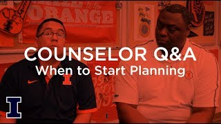 Ask Admissions: When should I start planning for college?