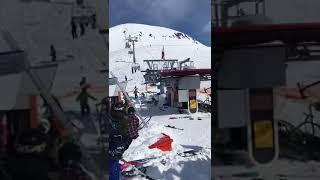 Мясорубка на подъёмнике в Грузии +18