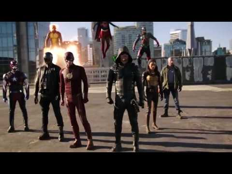 Supergirl Season 2 (DC Crossover Event 'Heroes vs Aliens' Full Promo)