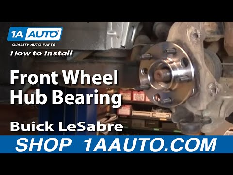 How To Replace Front Wheel Hub & Bearing 00-05 Buick LeSabre