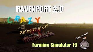 |Ravenport 2.0-Bales 'n stuff|w/GermanyG FS19 PS4|