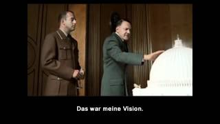 Hitler and the model of Berlin (original German subtitles)