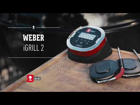 Learn all about the Weber iGrill 2 app-connected thermometer