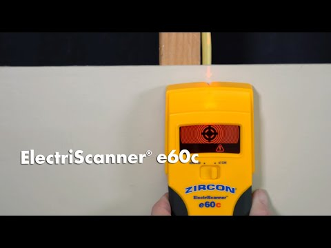 Find Live Electricity & Metal With the Zircon ElectriScanner e60c Live AC & Metal Scanner