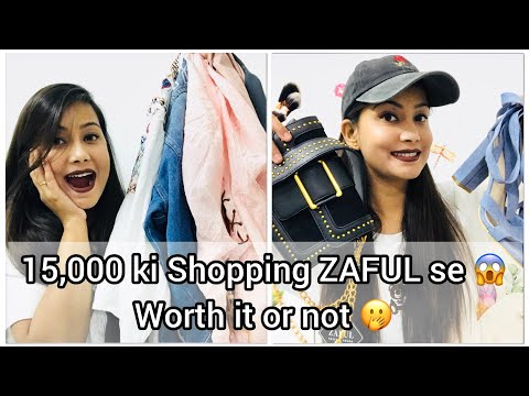ZAFUL HAUL | 15000 Shopping Worth it 👍or not 👎 | Black Friday Sale | Cherry's World |