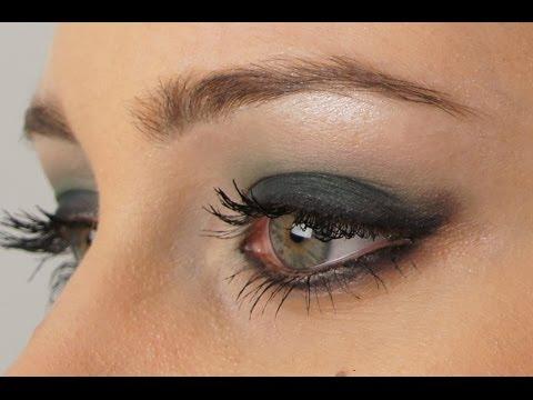 Make up tutorial: Trucco Elegante da Sera per occhi verdi e grandi (italiano)