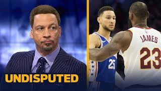 Chris Broussard reveals why LeBron James should complete 'The Process' in Philly   NBA   UNDISPUTED