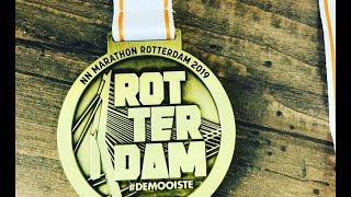 Voor De Eerste Keer De Marathon Van Rotterdam Lopen.