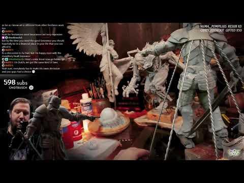 Sculpting Ravenguard Paladin /Ravendawn Online / Day 20