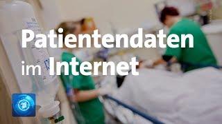 Millionenfacher Diebstahl sensibler Krankendaten – Warum eine komplette Arztpraxis offen im Netz sta