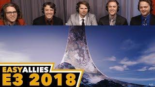 Xbox Briefing - Easy Allies Reactions - E3 2018 - dooclip.me