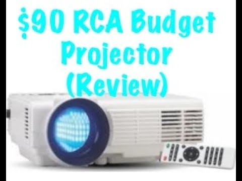 $90 RCA Home Theater Projector (Review)