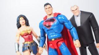 DC Multiverse Kingdom Come SUPERMAN Figure Review (C&C Lobo Series)