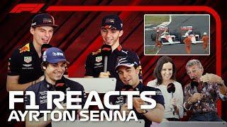 F1 Reacts: Ayrton Sennas Greatest Moments