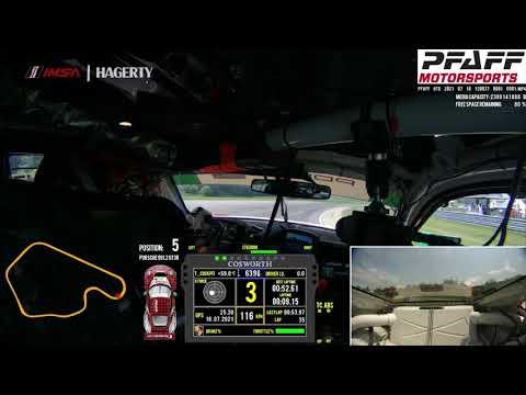 IMSA 2021 第7戦ライムロック・パーク ラップ走行が見れるオンボード映像