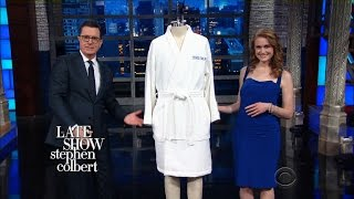 Stephen Presents President Trump With Robe Force Once