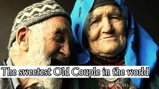 the sweetest old couple in the world |true love Reading Quran Together |madaris media official|