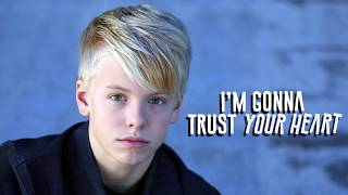 Carson Lueders    You're The Reason (Lyric Video)