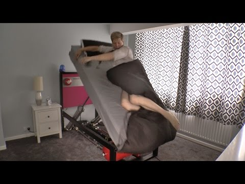 傳說中的賴床剋星!The High Voltage Ejector Bed