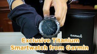 Review: Garmin Fenix 5X Plus Titanium