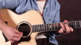 Tom Petty Guitar Lesson - How to Play Wildflowers - Acoustic Songs on guitar - Tutorial