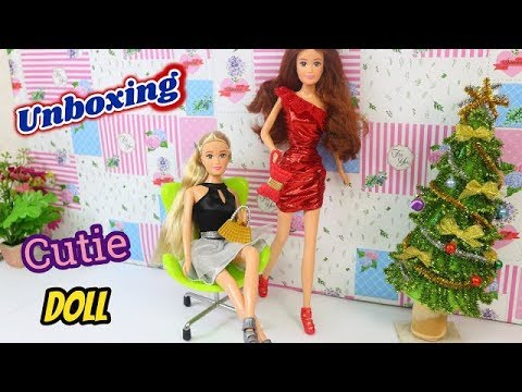 """Búp bê đi mua sắm MỞ HỘP BÚP BÊ """"CUTIE DOLL"""" MỚI ♥ Cutie Doll Unboxing and Review Ami DIY"""