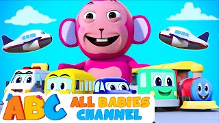 Vehicles Song   3D Original Song   Learn Vehicles For Kids   Nursery Rhymes For Kids   Baby Songs