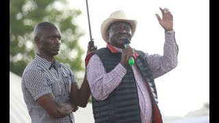 Raila: Nasa ready for talks with Jubilee - VIDEO