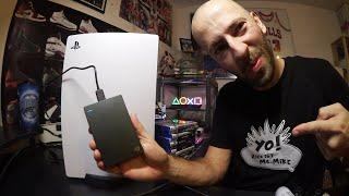 Meine 4TB Externe Festplatte für die Playstation 5 PS5