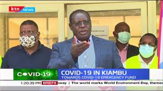 COVID-19 in Kiambu: Cases of COVID-19 have doubled in 2 weeks now standing at 58