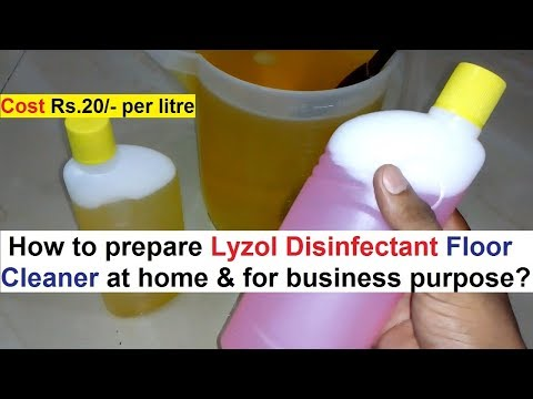 3118fd52f36 Lyzol disinfectant floor cleaner making formula