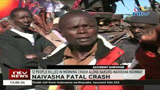 12 People Killed In Morning Crash Along Nakuru-Naivasha Highway