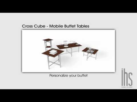 Mobile Buffet Table | Cross Cube