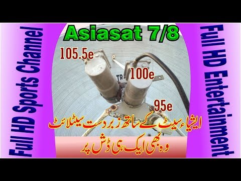Asiasat 5, 100e With Asiasat 7/8, 105e and NSS6, 95e in One Dish
